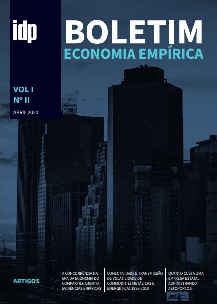 Capa Boletim Economia Empírica Vol. I No. II
